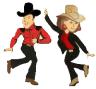Line Dance tanzpaar